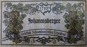 Wijnetiket uit 1735