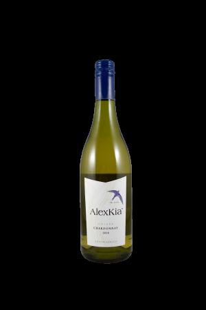 AlexKia chardonnay witte wijn Zuid Afrika Wijnzat