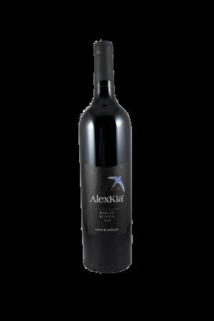 AlexKia merlot rode wijn 75cl Zuid-Afrika Wijnzat