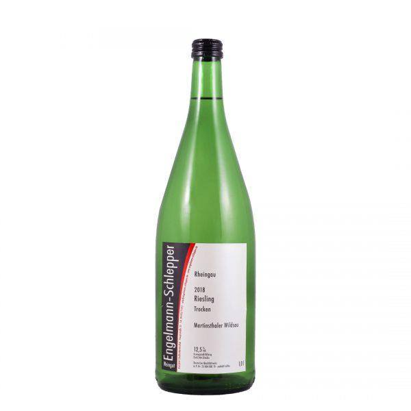 Engelmann-Schlepper witte wijn riesling 1 liter wijnzat