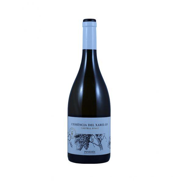 Witte biodynamsiche wijn Xarel.lo Castell D'Age 75CL Wijnzat