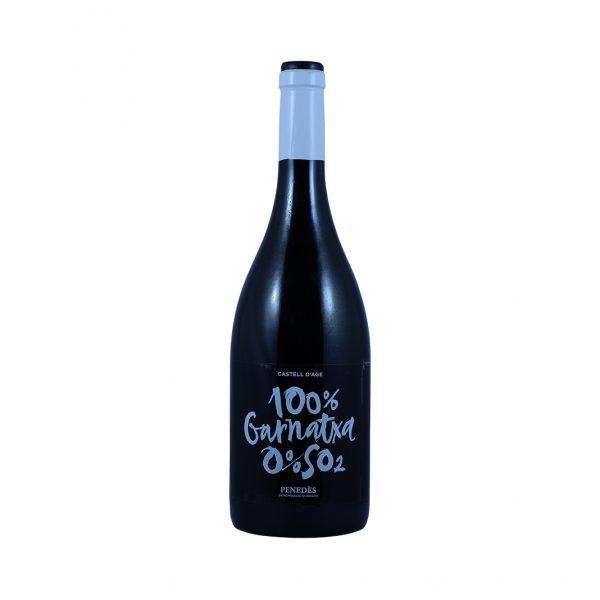 Rode biodynamische wijn Garnatxa Castell D'Age 75CL Wijnzat
