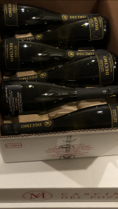 Spumante Cascina del Pozzo fles 75cl bubbels Wijnzat